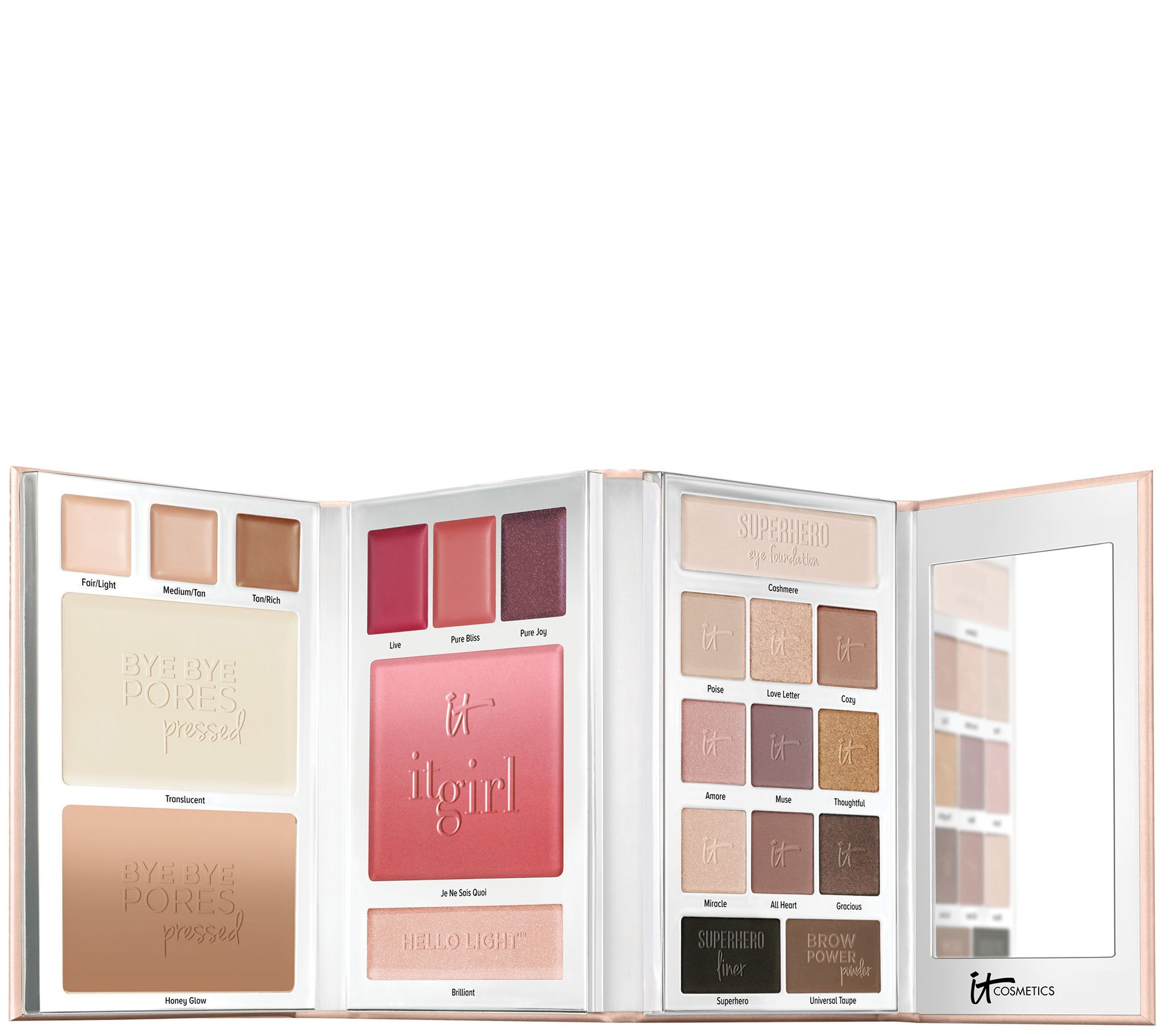 It Cosmetics Special Edition It Girl Holiday Beauty Book W Gift Box