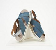Earth Origins Leather Platform Sandals - Carley Charlene - A350749