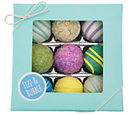 Fizz & Bubble Spa Bath Truffles - Set of 9 - A363349