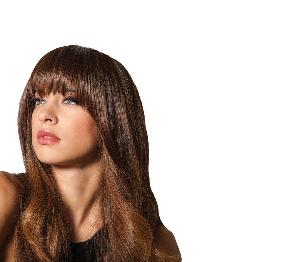 Hairdo Effortless Clip In Bangs Page 1 Qvc