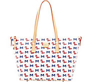 Dooney & Bourke NCAA Ole Miss University Zip Top Shopper - A283250