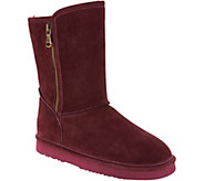 Lamo Water and Stain Resistant Suede Boots - Juniper - A298850