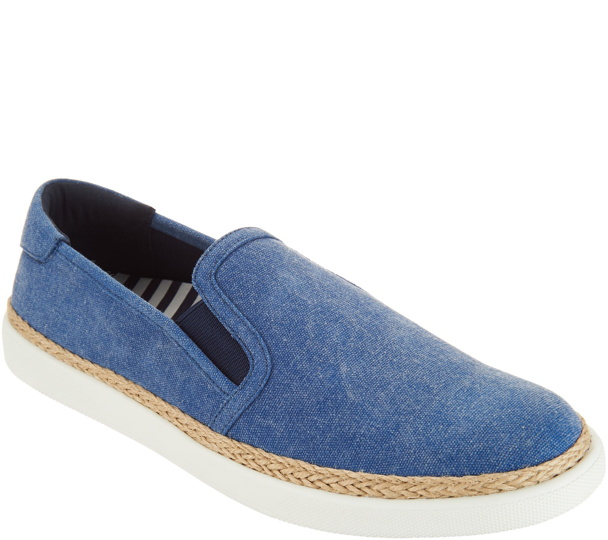 70f7f94620fb5 Vionic Canvas Slip-on Shoes - Rae - Page 1 — QVC.com