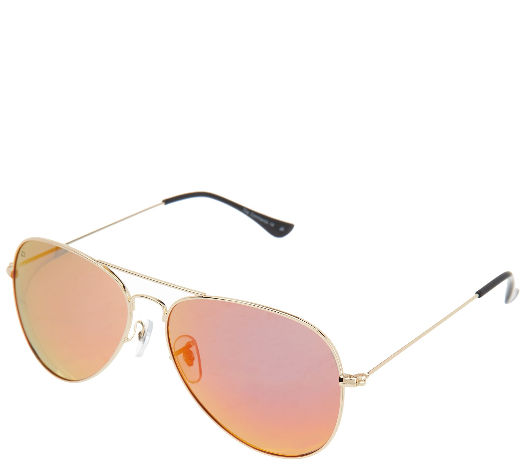 bd71564e586 Prive Revaux Commando Aviator Polarized Sunglasses - Page 1 — QVC.com