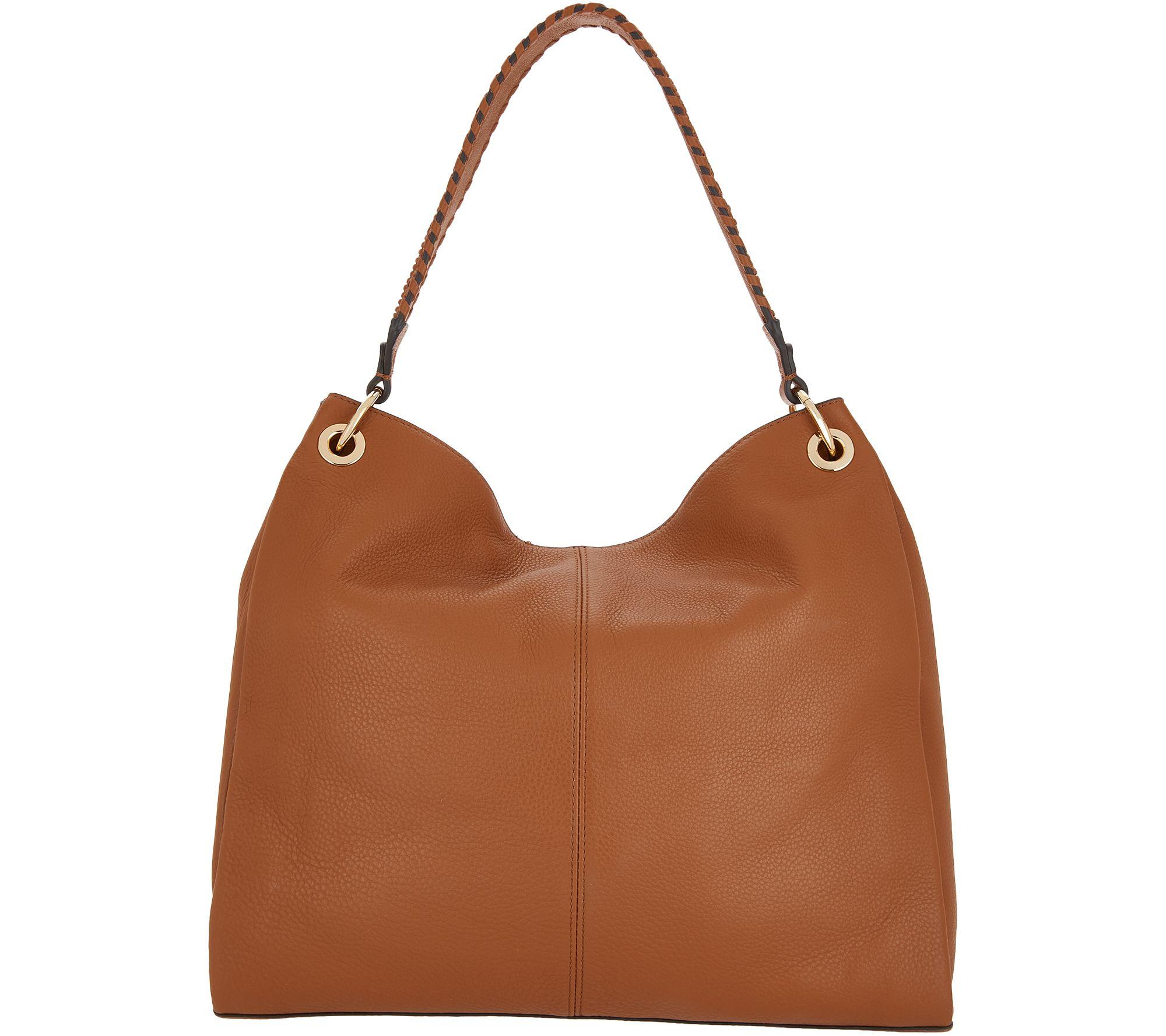 55dbd6c15e Vince Camuto Leather Hobo Handbag - Nadja - Page 1 — QVC.com