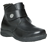 Propet Leather Ankle Boots with Strap - Holly - A356050