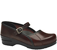 Dansko Closed Back Leather Mary Janes - Marcelle - A412450