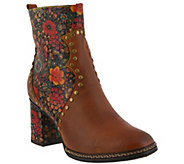 LArtiste by Spring Step Leather Boots - Olevea - A416350
