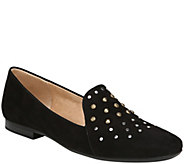 Naturalizer Low-Heel Slip-On Loafers - Emiline4 with Studs - A417150