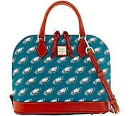 Dooney & Bourke NFL Eagles Zip Zip Satchel - A285751