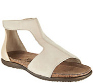 Naot Leather T-Strap Sandals - Nala - A288151