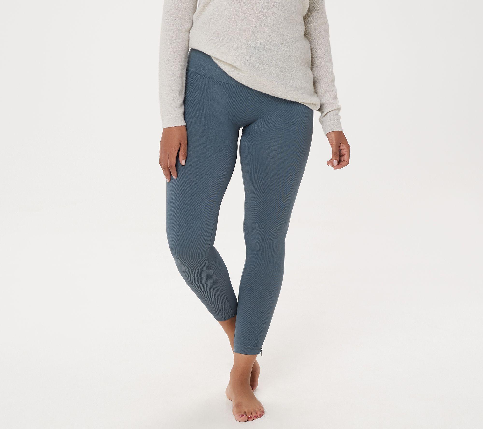 268df1c131e41 Spanx Seamless Side Zip Leggings - Page 1 — QVC.com