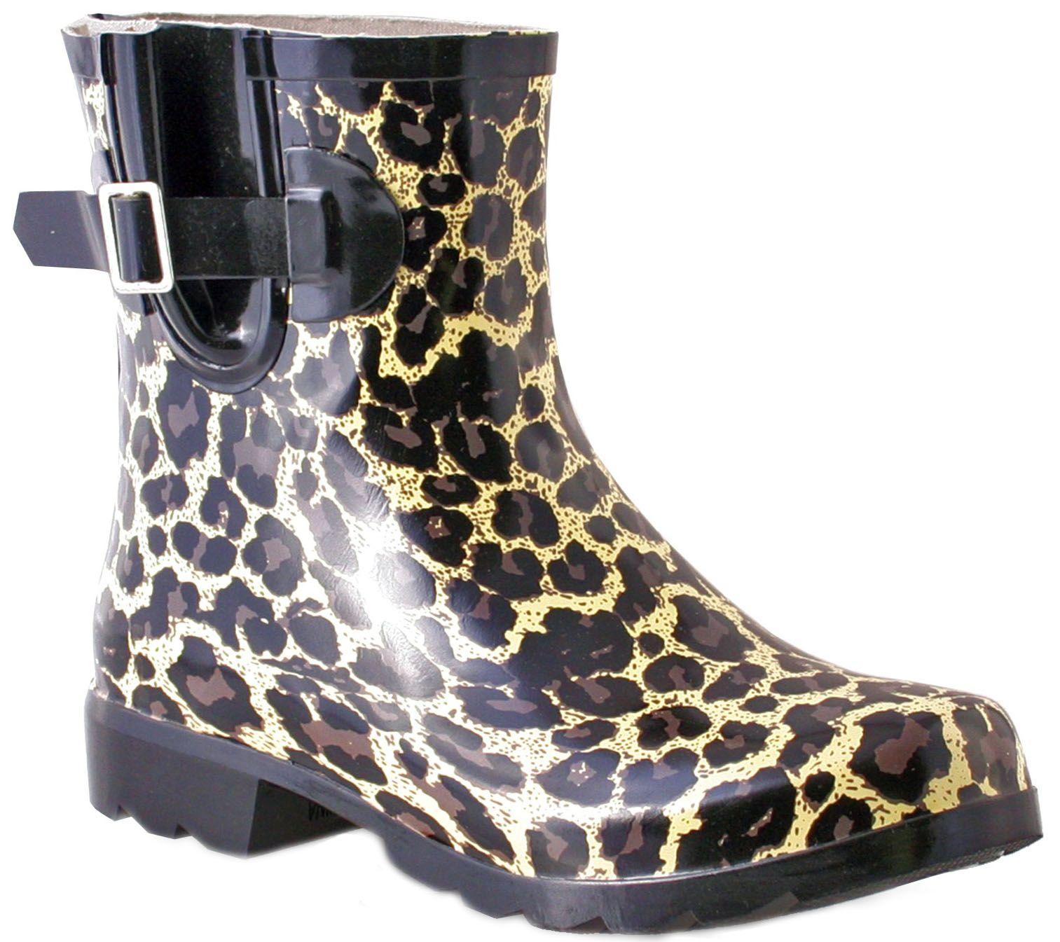 32a56633fa3 Nomad Rubber Rain Boots - Droplet — QVC.com