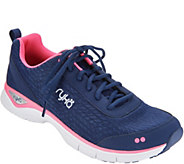 Ryka Mesh Lace-up Walking Sneakers - Rayne - A343451