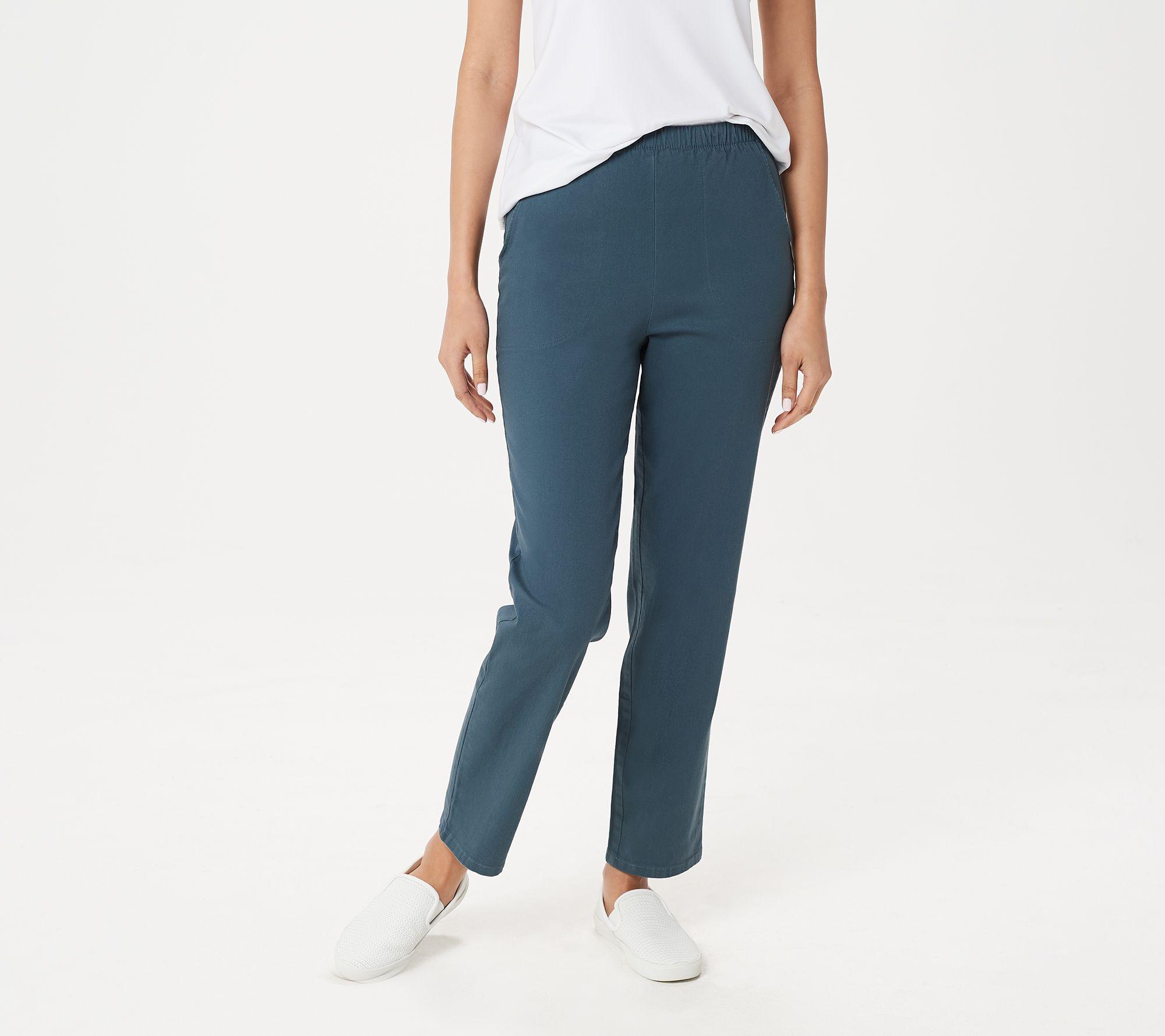 46af8a6a831324 Original Waist Stretch Regular Pants w/ Side Pockets - Page 1 — QVC.com