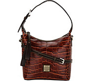 Dooney & Bourke Croco Embossed Leather Crossbody Handbag-Paige - A296352
