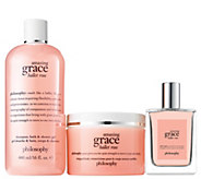 philosophy graceful roses luxurious fragrance layering trio - A307552
