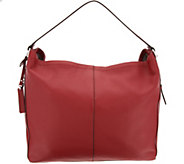 Vince Camuto Leather Hobo Handbag - Leany - A308752