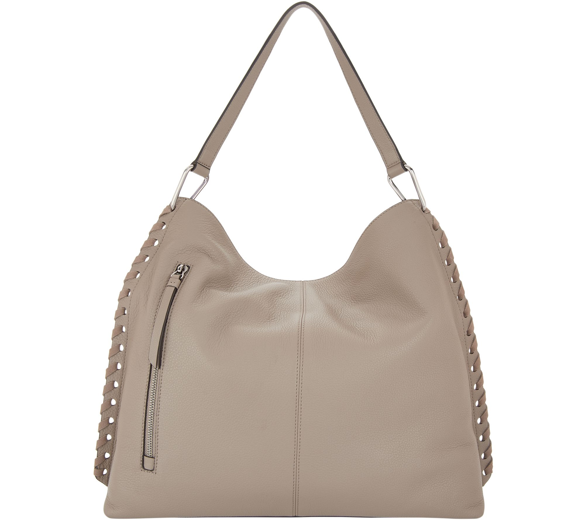 cc1ab30a57 Vince Camuto Suede Hobo Bag - Bren - Page 1 — QVC.com