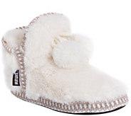 MUK LUKS Womens Amira Bootie Slippers - A362252