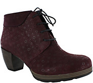 Wolky Leather Booties - Jacquerie - A362452