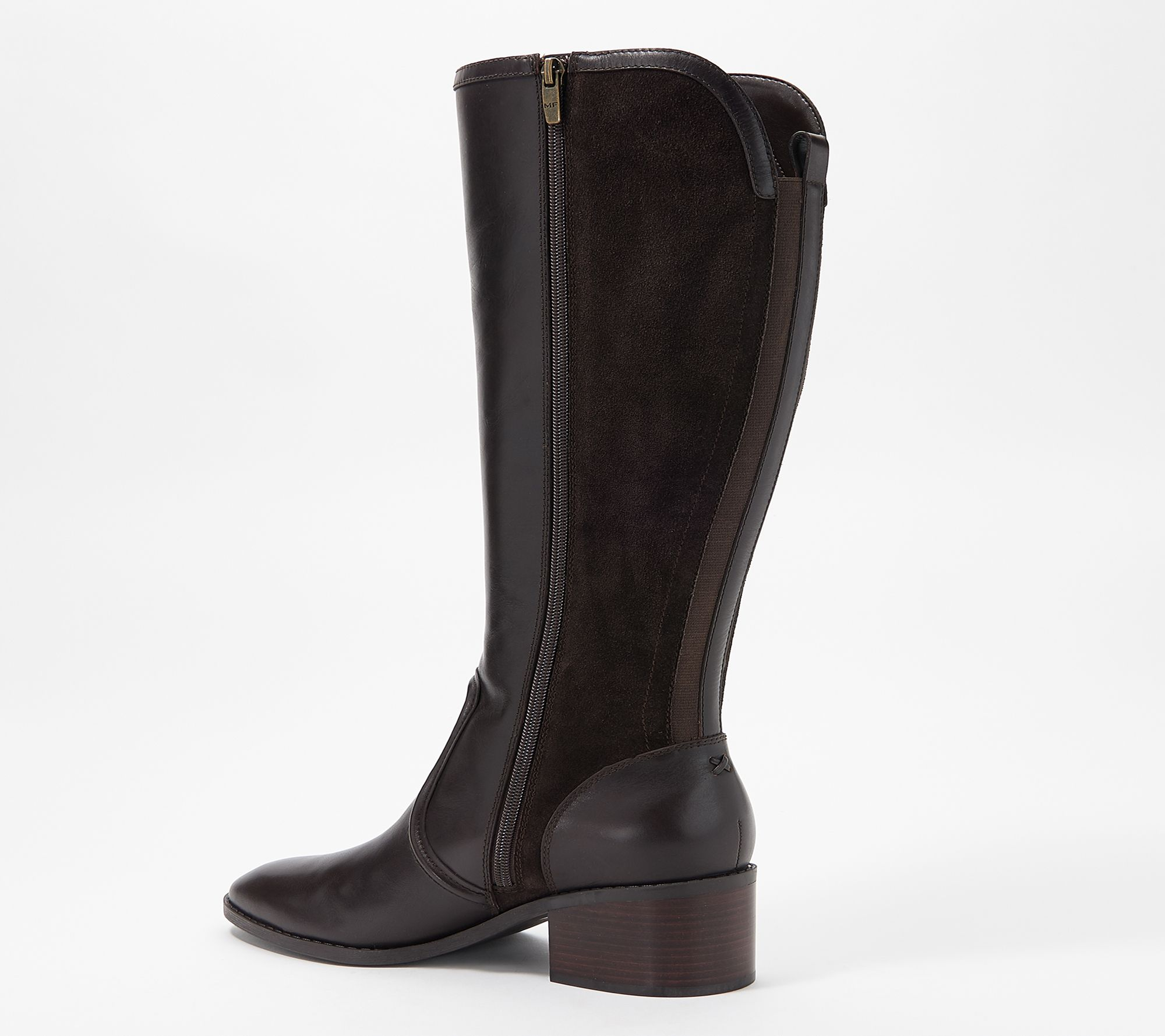 Marc Fisher Wide Calf Leather Tall Shaft Boots - Riyea ...