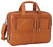 Le Donne Leather Executive Laptop Briefcase - A413352