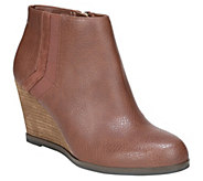 Dr. Scholls Wedge Booties - Patch - A417952