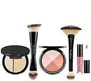 EVE PEARL 5-Pc Flawless Face, Contour, Brush &Lip Collection - A418352