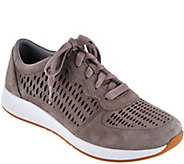 Dansko Suede Lace-up Sneakers - Charlie - A289553