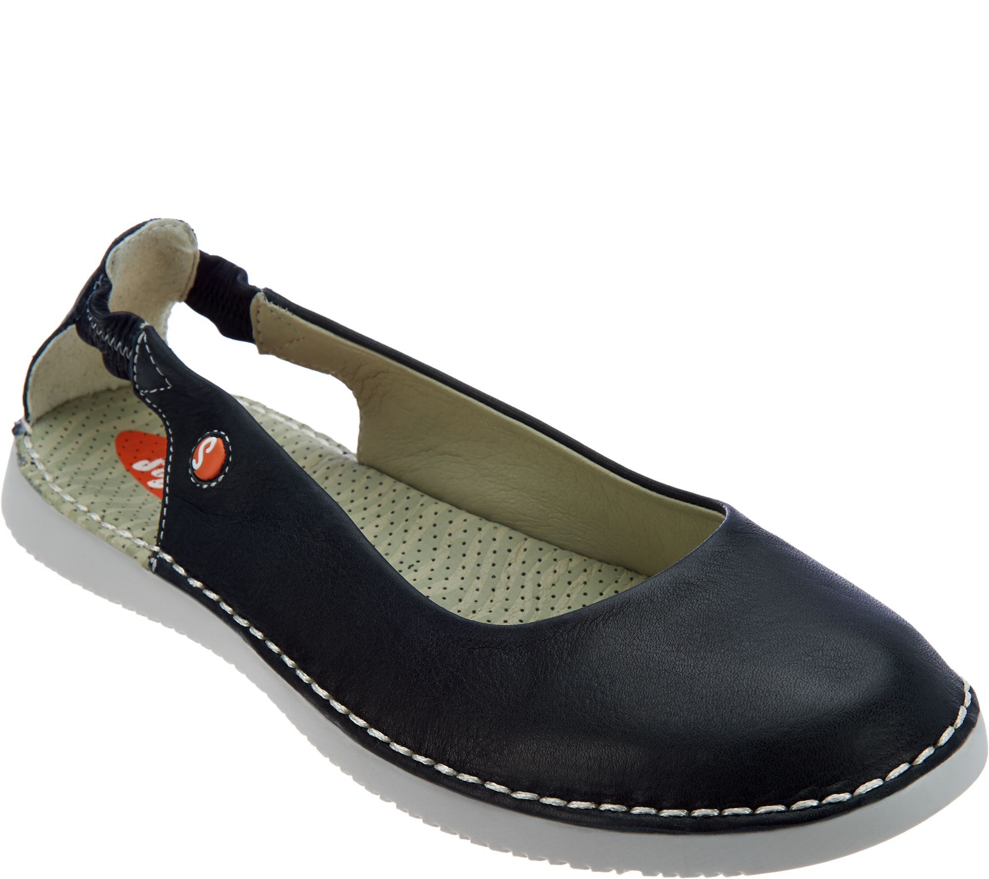 89e6e56949cd Softinos by FLY London Leather Slip-on Shoes - Tor - Page 1 — QVC.com