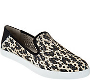 Lori Goldstein Collection Perforated And Printed Slip-On Sneaker - A292353