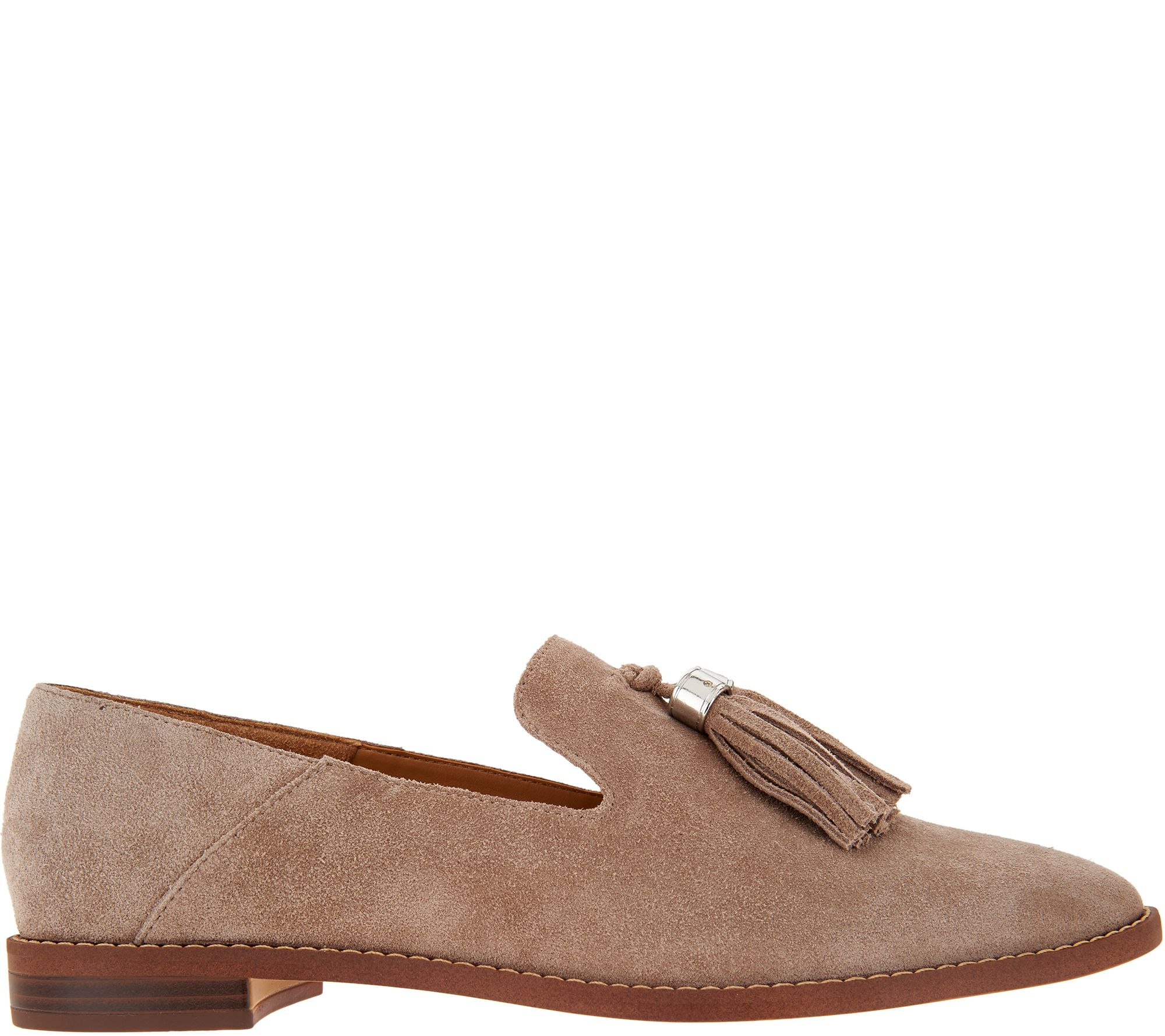 4a4f4a422b8 Franco Sarto Suede Loafers with Tassels - Hadden - Page 1 — QVC.com