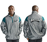 NFL Quarter Zip Lightweight Pullover Jacket - A296153
