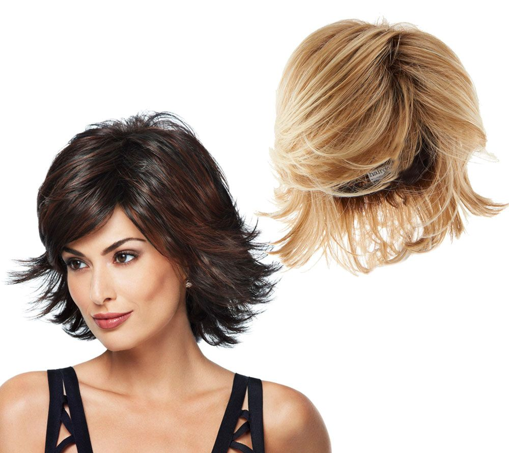 87385085f Hairdo Allure Medium Length Wig - Page 1 — QVC.com