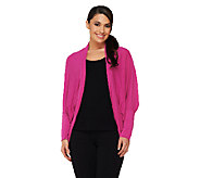 cee bee CHERYL BURKE Open Front Cocoon Top - A261554