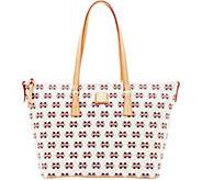 Dooney & Bourke NCAA Mississippi State Zip Top Shopper - A283254