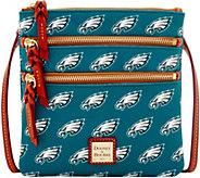 Dooney & Bourke NFL Eagles Triple Zip Crossbody - A285654