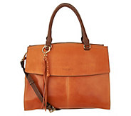 Tignanello Vintage Leather Convertible Satchel - A292854