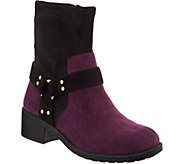 Lori Goldstein Collection Motorcycle Boot with Strap Detail - A295754