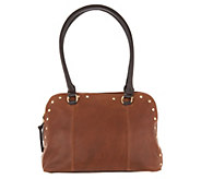 Tignanello Vintage Leather Mojave Dome Shopper Handbag - A296554