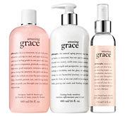 philosophy grace & love soft as silk 3-piece layering kit - A309254