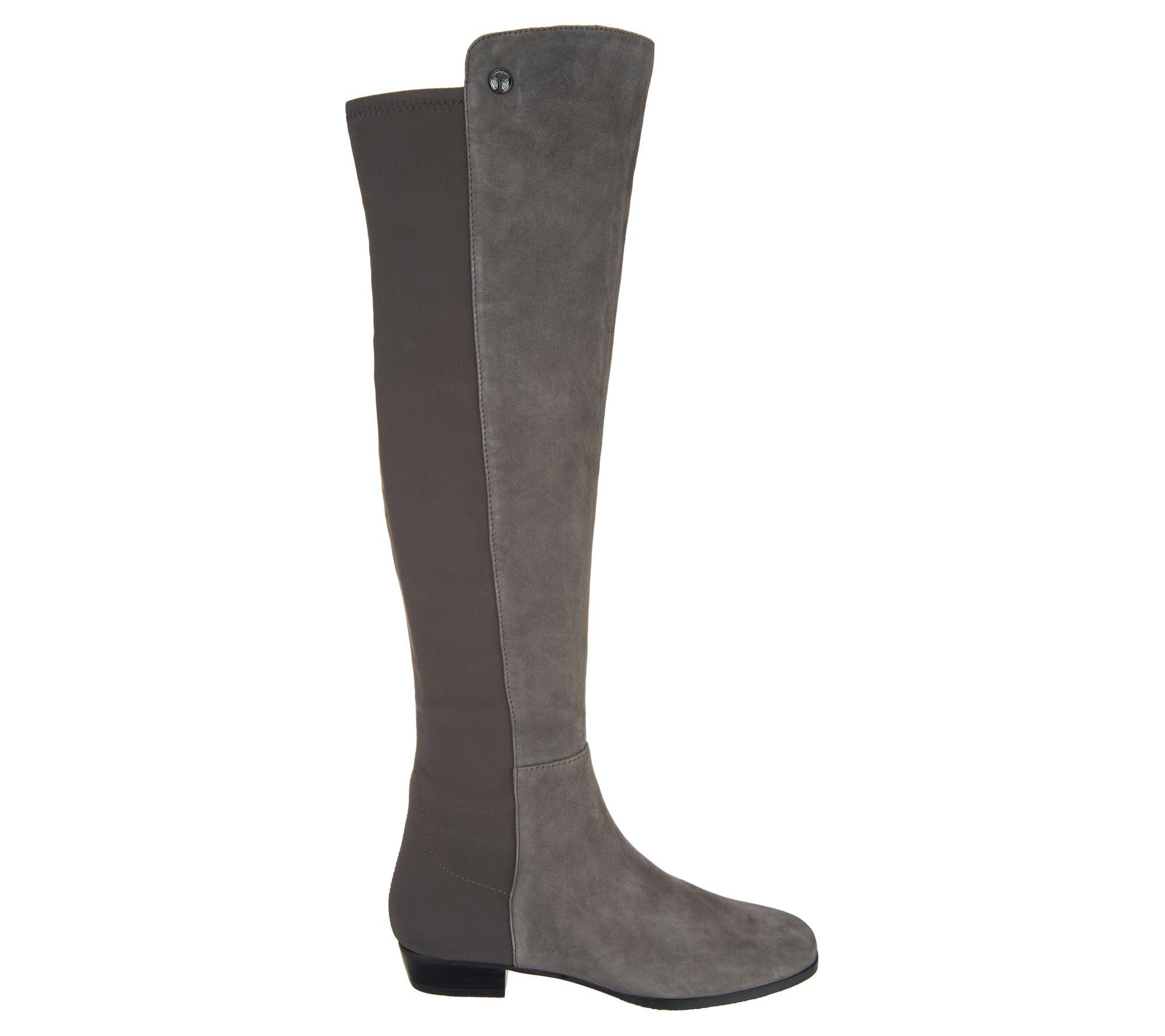 692693a9f842 Vince Camuto Medium Calf Leather Tall Shaft Boots - Karita - Page 1 —  QVC.com