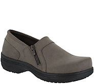 Easy Works by Easy Street Side Zip Work Shoes -Bentley - A360554