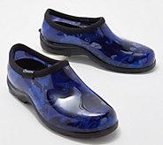 Sloggers Modern Floral Waterproof Garden Shoe w/ Comfort Insole - A374254