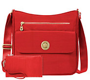 baggallini Top Zip Flap Crossbody - Antalya - A412054