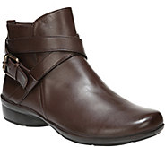 Naturalizer Leather Ankle Boots - Cassandra - A417354