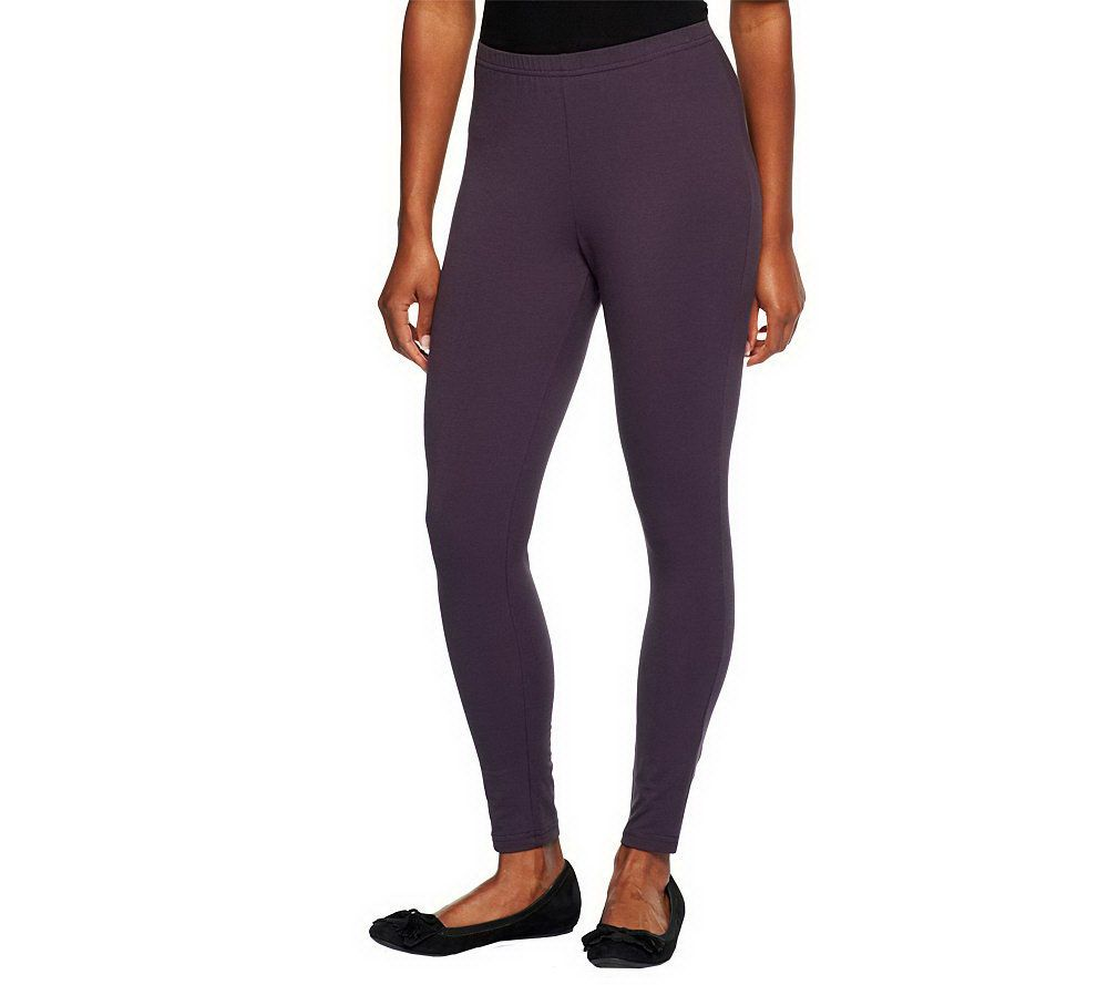5499ad18767 Women with Control Tall Fit Pull-On Knit Leggings - Page 1 — QVC.com