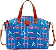 Dooney & Bourke MLB Nylon Braves Small Satchel - A281755