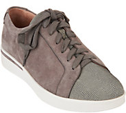 Gentle Souls Leather Lace-up Sneakers - Haddie - A297055